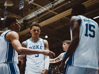 Wendell Moore Jr. and Paolo Banchero flashed some early chemistry in Tuesday's intrasquad scrimmage.