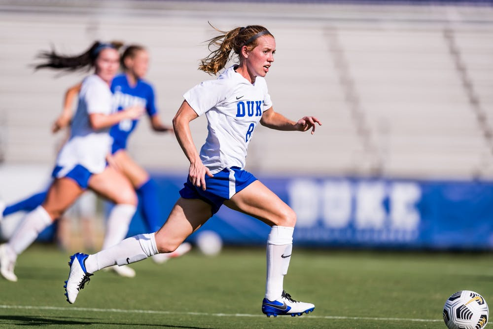 Boade notched three goals and one assist in 12 games in the fall.