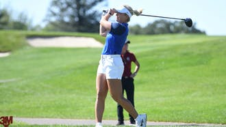 Junior Erica Shepherd finished in joint 34th at Westmoreland Country Club.