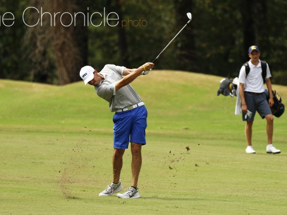 Freshman Chandler Eaton finished in the top 10 this week against one of the top collegiate fields of the regular season.