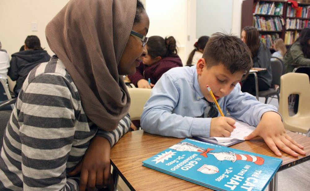 This year, Duke celebrated the 20th anniversary of its tutoring program American Reads/America Counts, where students tutor children at schools in Durham.