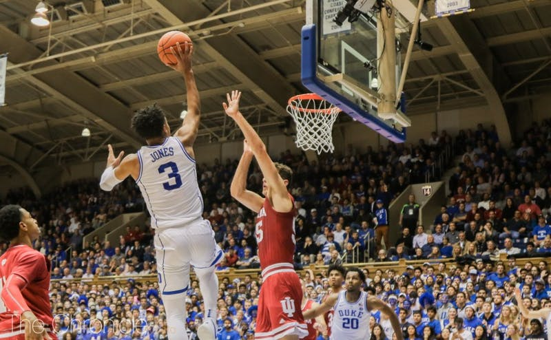 Tre Jones looked solid once again on Tuesday night.