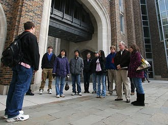 After feedback from parents of prospective students indicated campus tours did not fully reflect Duke's scholarly offerings, the University encouraged Duke Tour Guides to focus more on academics.