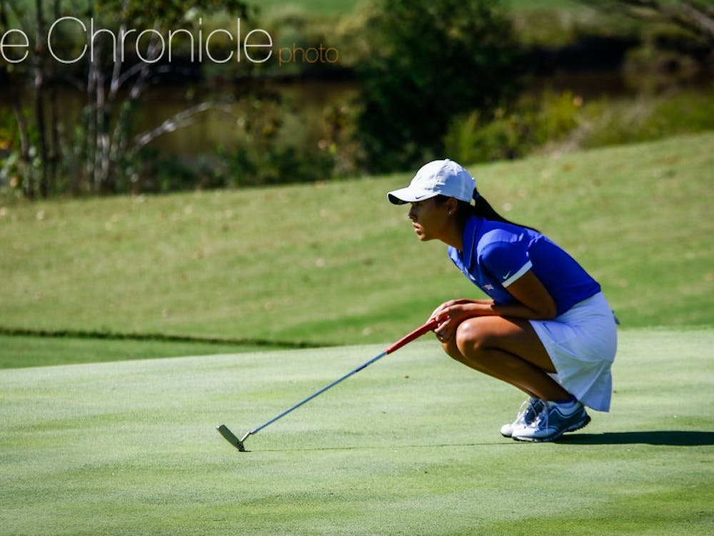 Senior Sandy Choi and the Blue Devils got off to a slow start in their season opener but carry momentum into their next event after a strong final 36 holes.