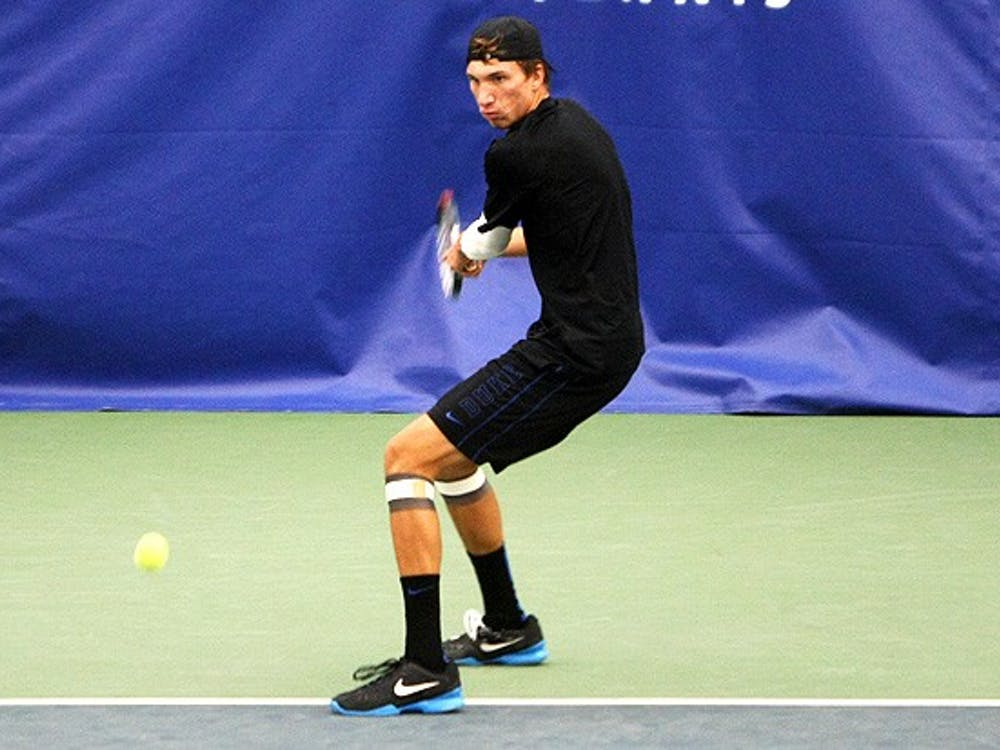Michael Redlick, pictured, and partner Jason Tahir are ranked No. 9 in the nation.