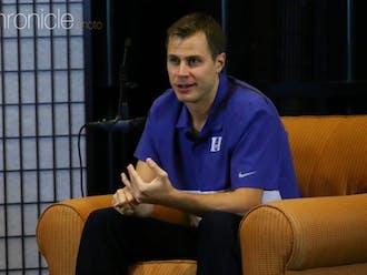 Scheyer was a Blue Devil point guard from 2007-10 and has been an associate head coach for Duke since 2018.