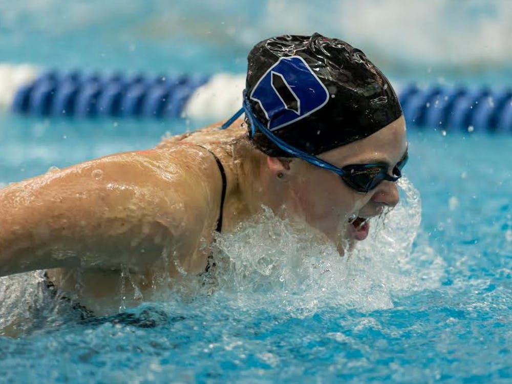 Senior Kiera Molloy underwent surgery to remove her pancreas May 28, but returned to the pool just six weeks later.