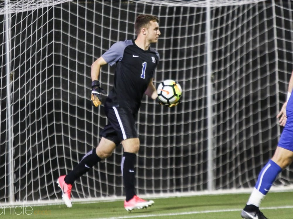 The Blue Devils did not back goalie Will Pulisic, who allowed three goals Sunday.