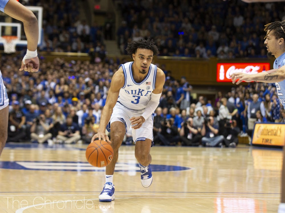 Offensive production outside of Tre Jones and Vernon Carey Jr. will be key for Duke heading into the ACC tournament.