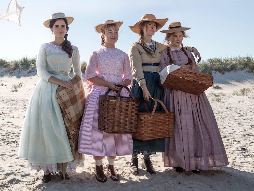 """From left: Emma Watson, Florence Pugh, Saoirse Ronan and Eliza Scanlen in """"Little Women."""""""