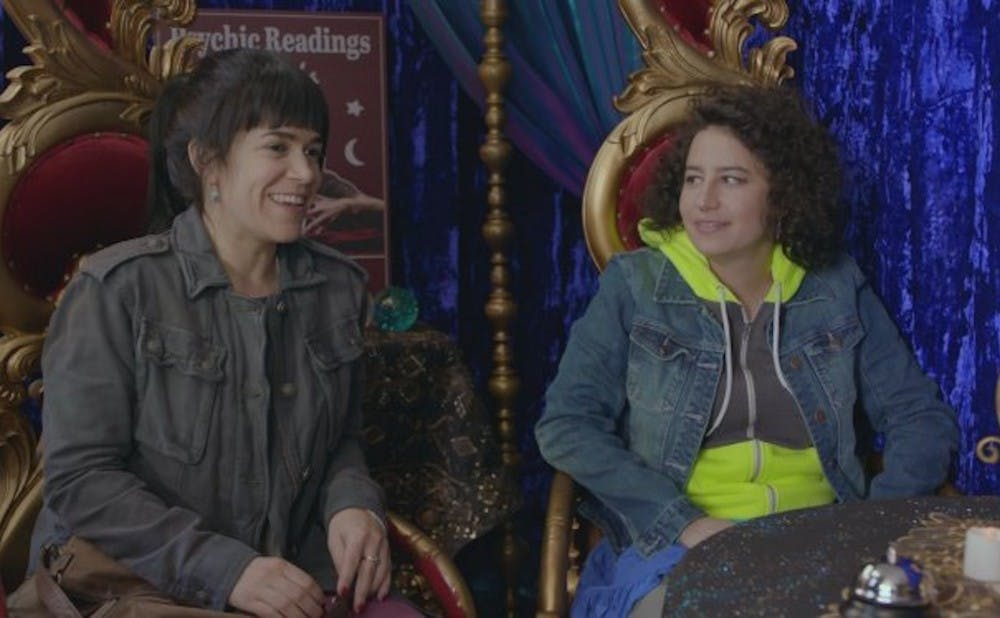 """<p>Abbi Jacobson and Ilana Glazer star in """"Broad City,"""" which began its fourth season on Comedy Central in September.</p>"""