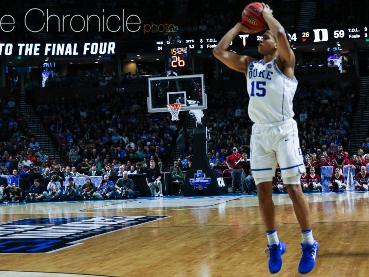 Freshman Frank Jackson scored 14 points Friday as he continues his late-season surge.