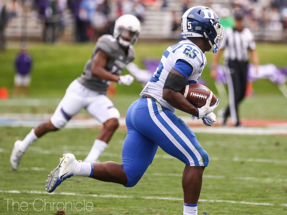 Deon Jackson might be Duke's offensive workhorse against Alabama this Saturday in the team's season opener.