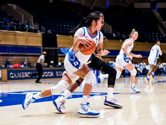 Sophomore Vanessa de Jesus averaged 12 points, 3.8 rebounds and 3.8 assists in the four games Duke played last year.