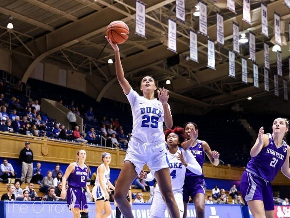 Thanks to unique offensive sets put in by head coach Kara Lawson, Duke forward Jade Williams has seen her assist totals increase dramatically.