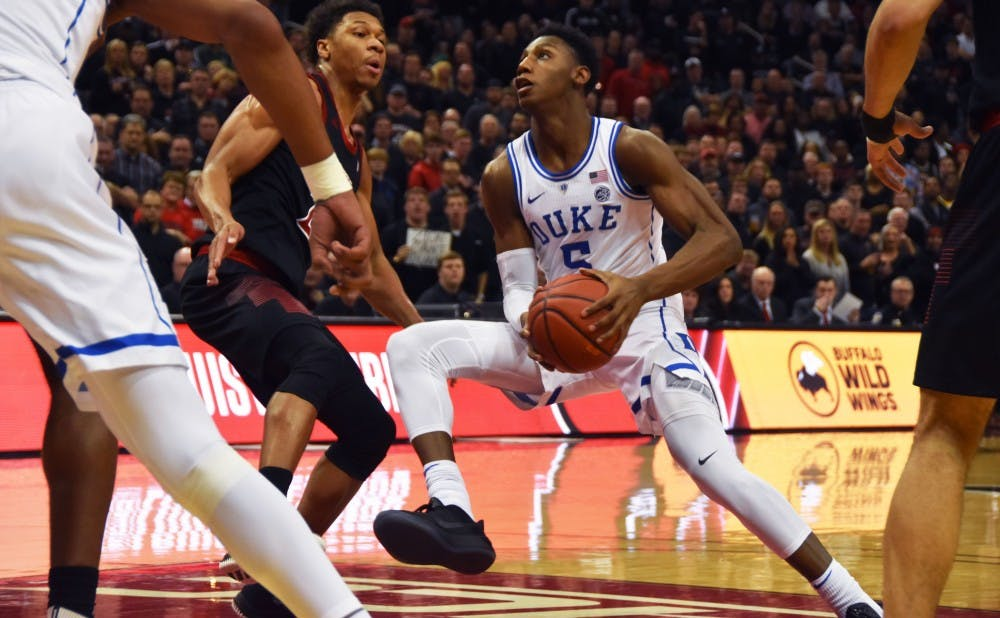<p>The Blue Devils' second-half comeback against Louisville may very well end up as the signature moment for this year's team.</p>