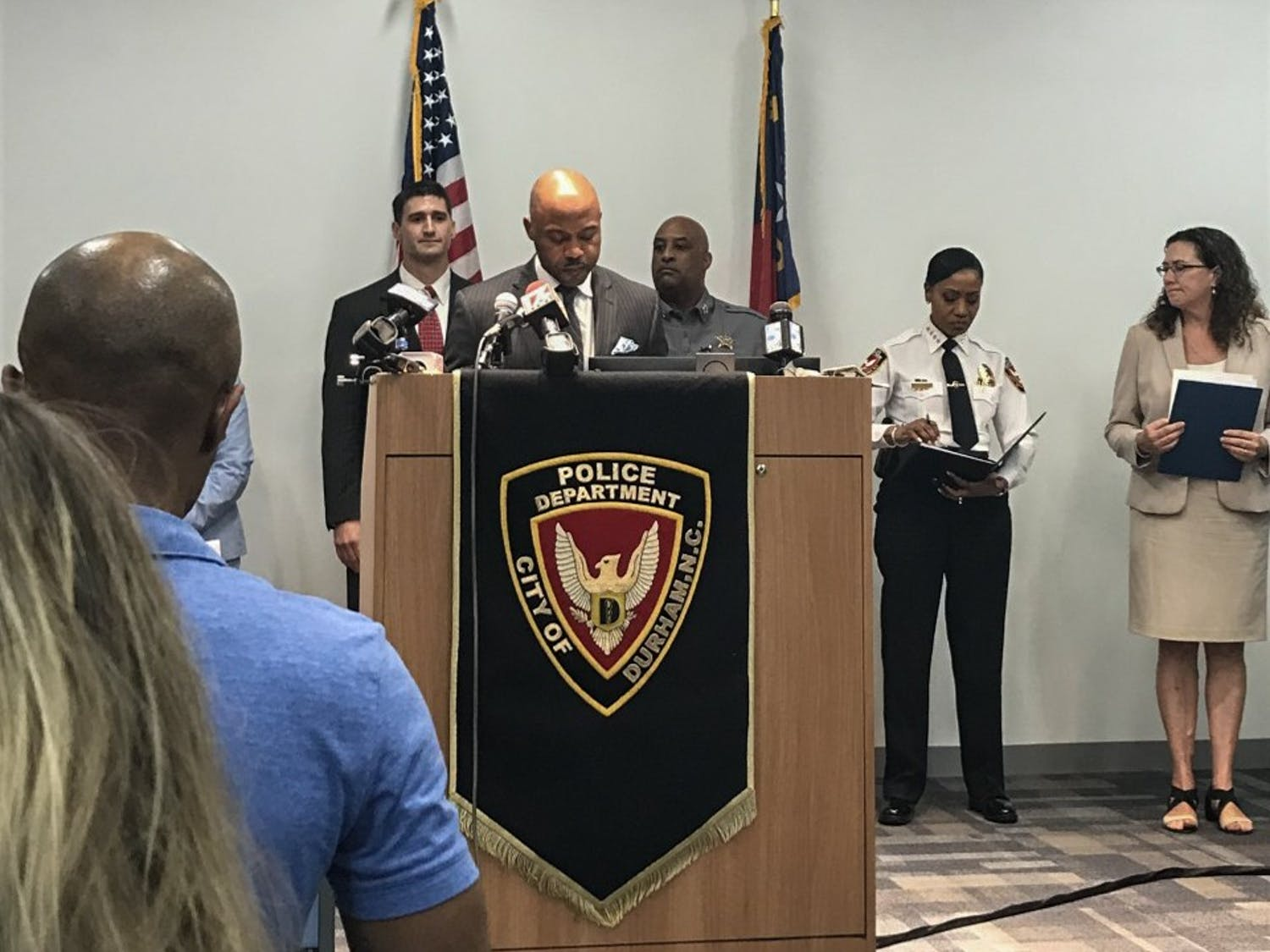 Durham city leaders held a press conference to address gun violence in the city.