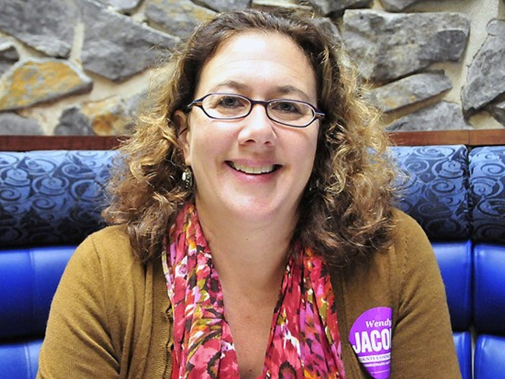 Wendy Jacobs, Trinity '83, is running for a spot on the Durham County Board of Commissioners. She started the Duke Coffeehouse as a student.