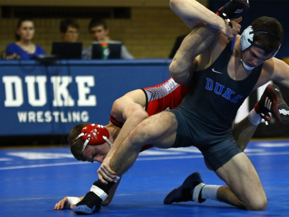 Mitch Finesilver took home the ACC title this weekend.