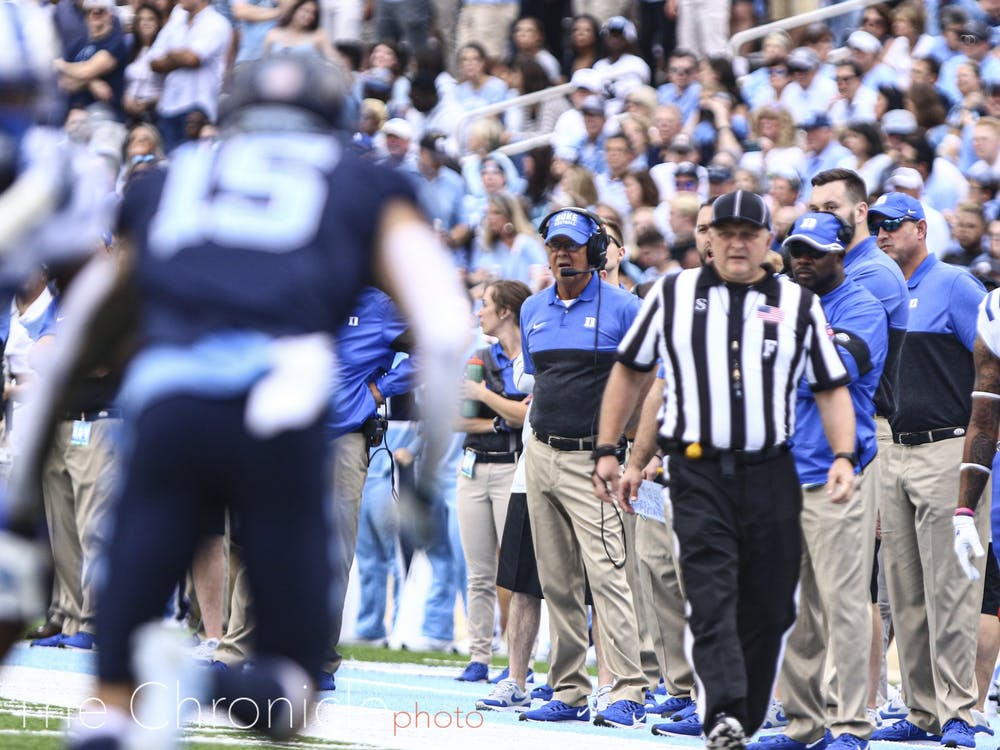 David Cutcliffe's Duke squad must rebound Saturday if it wants to clinch bowl eligibility.