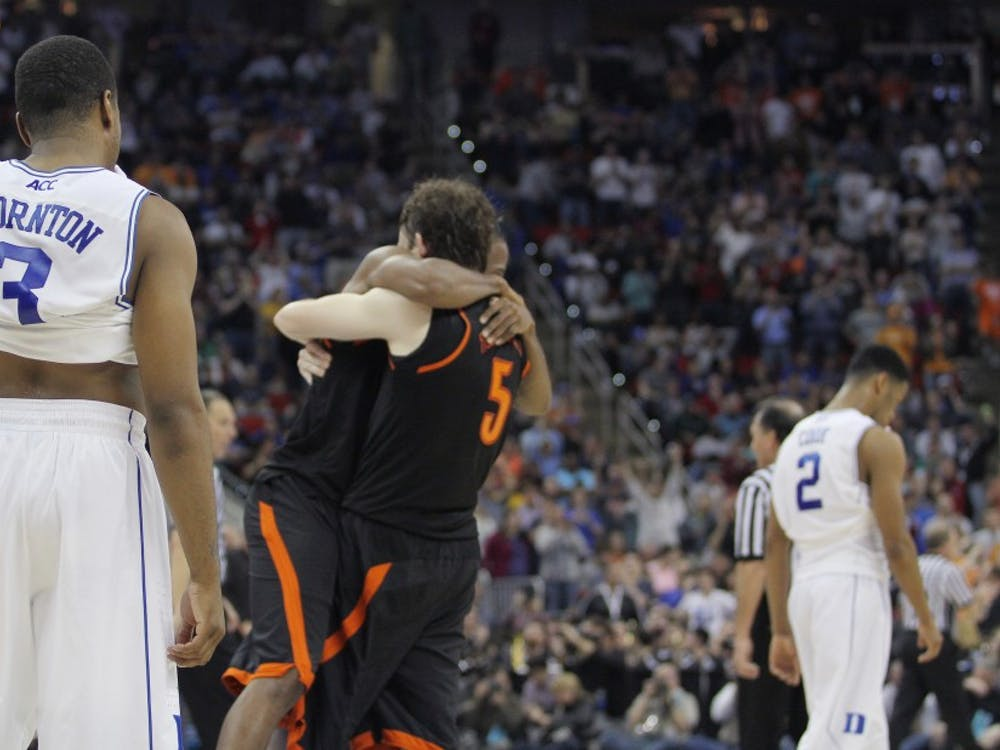 Mercer was left celebrating as the Blue Devils once again failed to make big plays down the stretch.