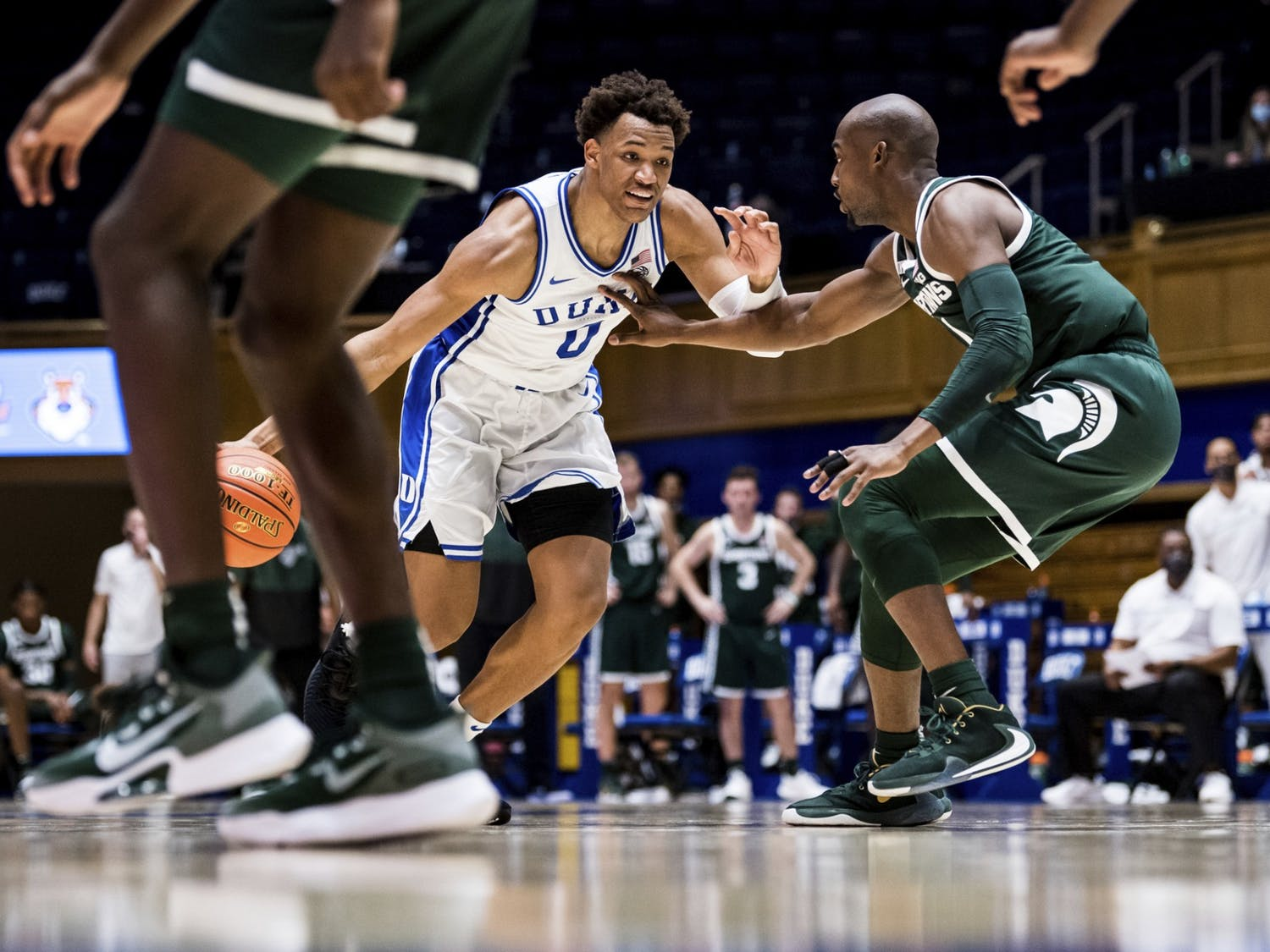 The Blue Devils will need their veterans, particularly Wendell Moore Jr., to step up in the scoring department Friday night.