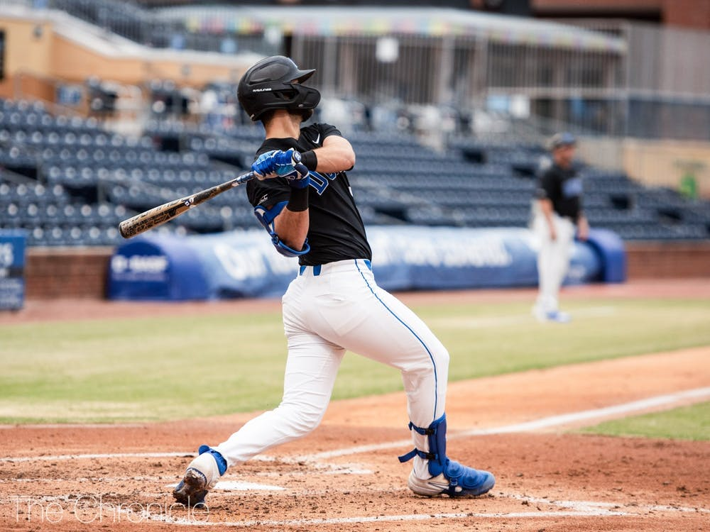 Catcher Michael Rothenberg leads Duke with a .364 batting average and 14 runs batted in.