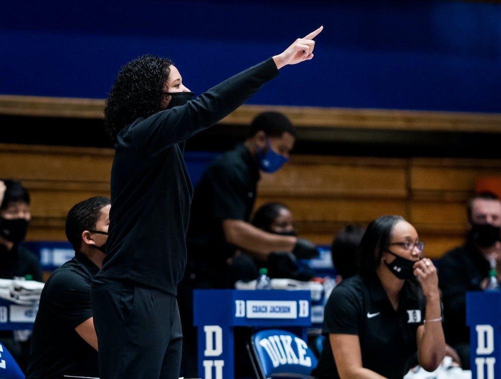 Head coach Kara Lawson will participate in her first Big Ten/ACC Challenge as Duke's coach.