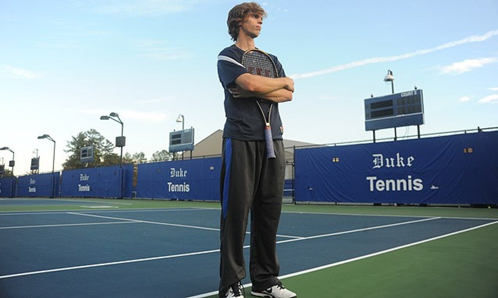 While he was no slouch in the past in singles, Reid Carleton has grown leaps and bounds as a player this year.