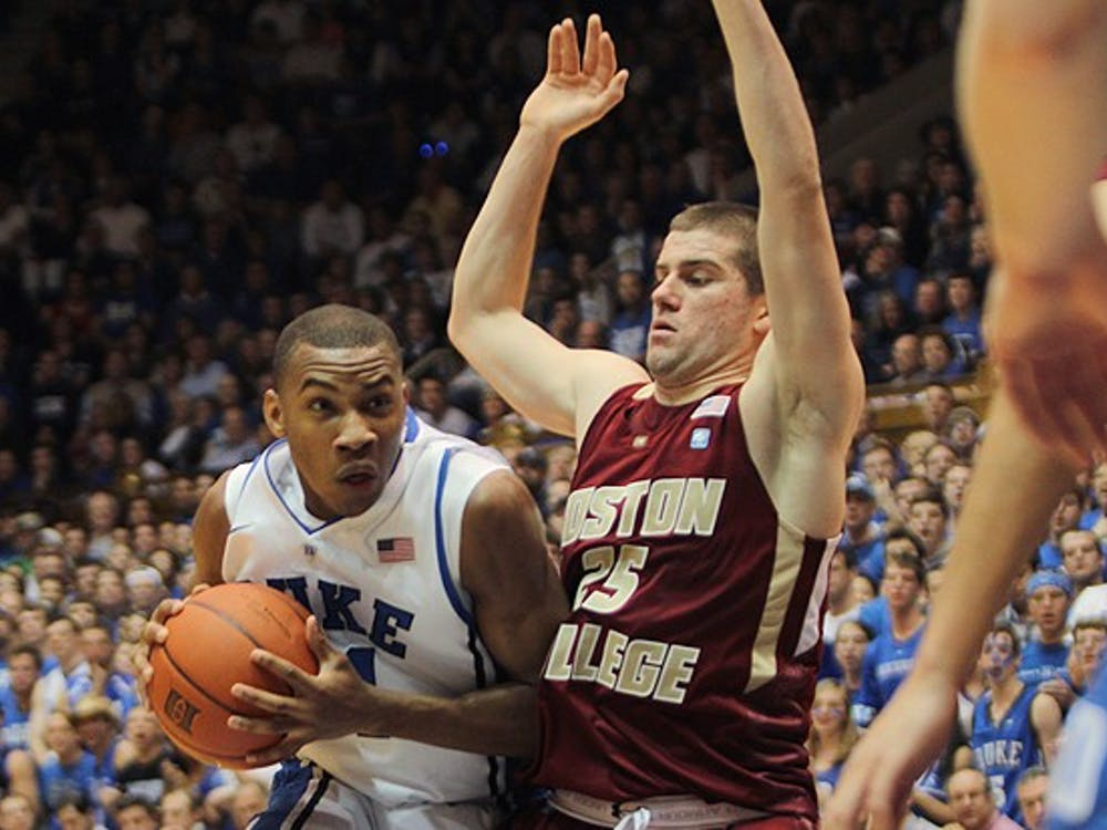 Rasheed Sulaimon scored a career-high 27 points, leading Duke to a 89-68 win against Boston College.