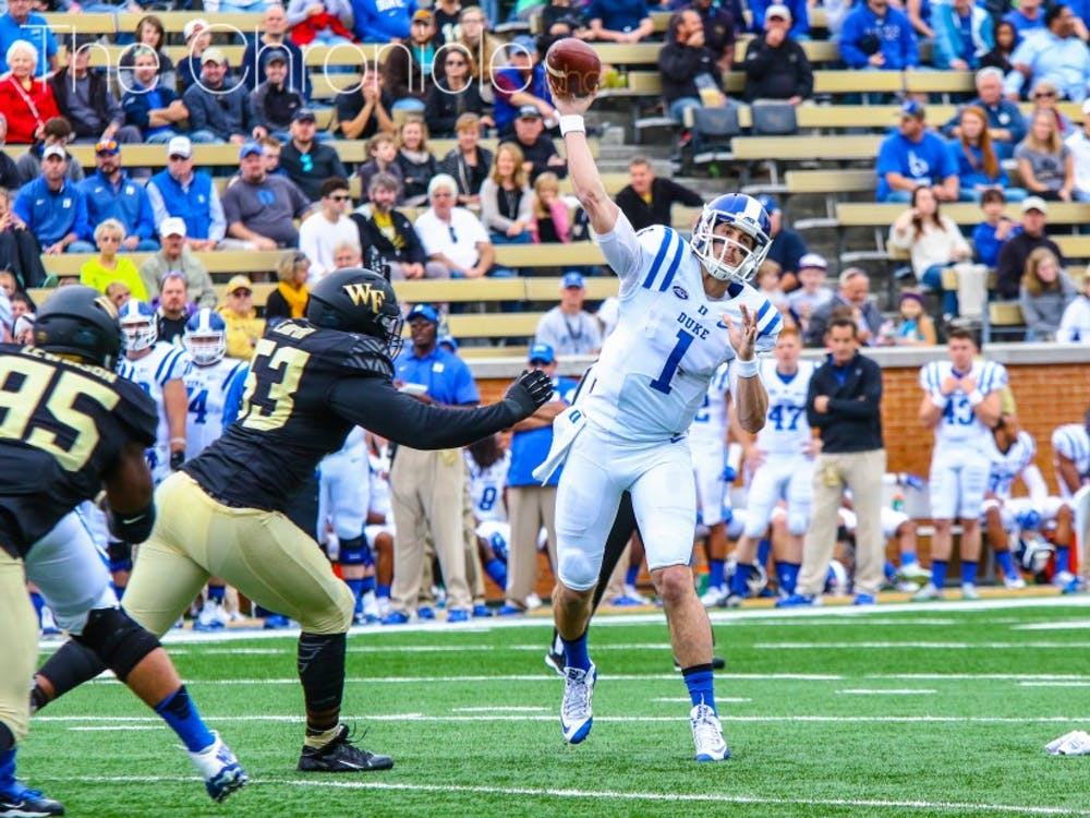 The Blue Devils' schedule provides an obstacle the team has not faced in recent years, and Duke is also counting on a redshirt freshman quarterback after Thomas Sirk's latest injury.