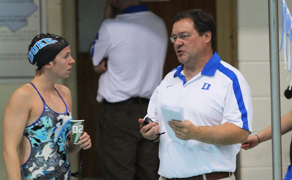 Duke head coach Dan Collela will take one of his largest recruiting classes to their first meet of the season in Greensboro.