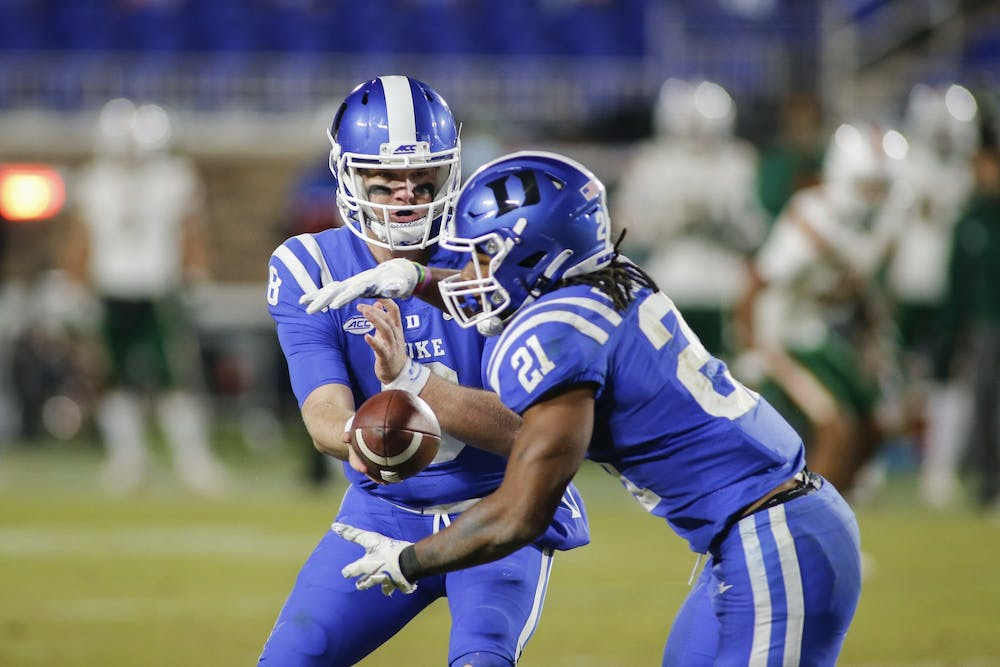 Duke will need its running game to flourish if it wants any chance at taking down Florida State.