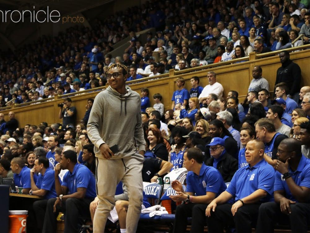 Wendell Carter will get a taste of the Duke-North Carolina rivalry Thursday before he arrives at Duke to be a part of it next year.