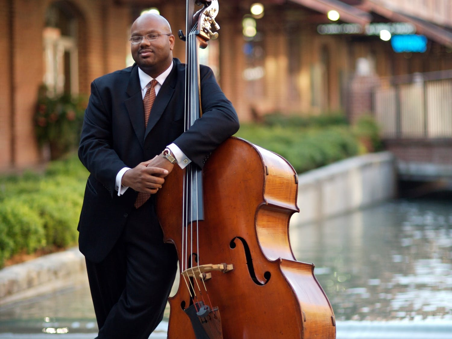 Jazz program director John Brown began his appointment as Duke's vice provost for the arts July 1.