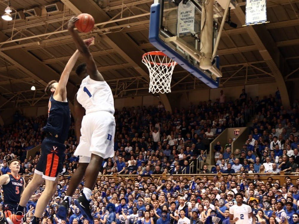 Zion Williamson will soon be dunking over 7-foot giants both real and virtual.