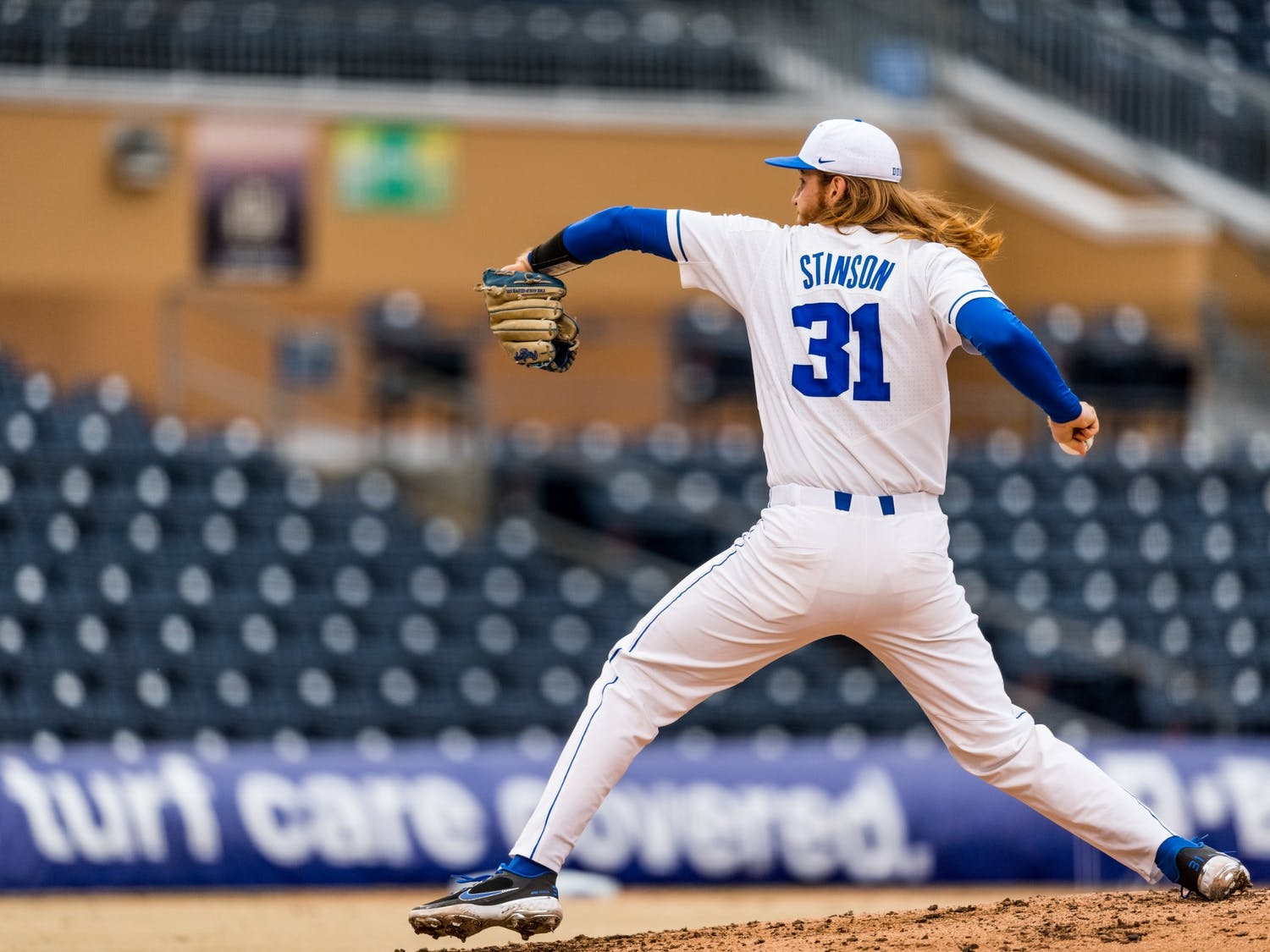 Junior Cooper Stinson impressed in his first start last weekend against Coastal Carolina, but struggled to replicate that success against Boston College.