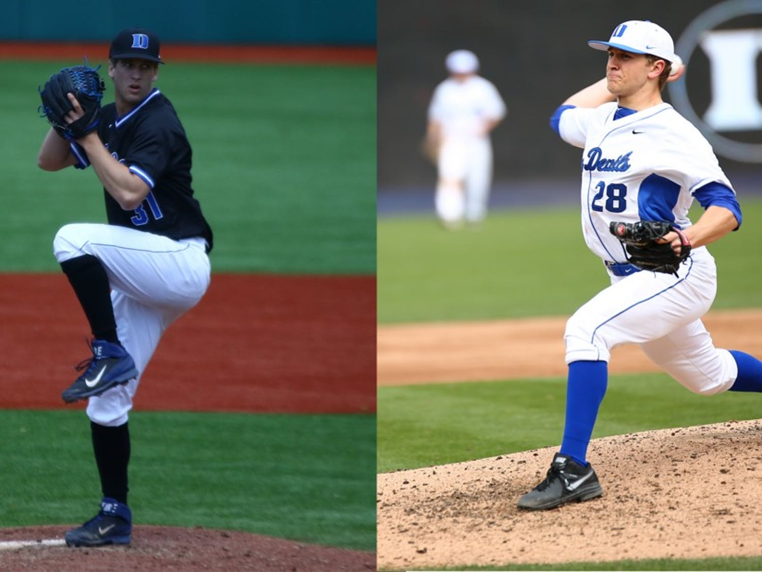 After suffering season-ending injuries at Cornell, Kellen Urbon and Brian McAfee each gained an extra year of eligibility that brought the duo to Duke.