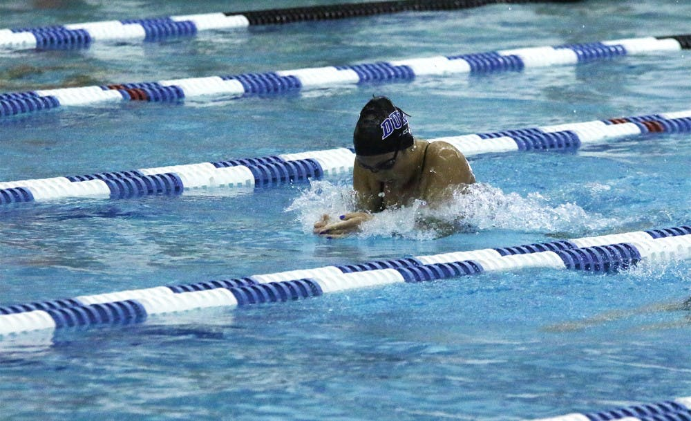 <p>The Blue Devils will kick off a busy stretch of dual-meet action Saturday afternoon at home in what should be a tightly-contested meet.</p>