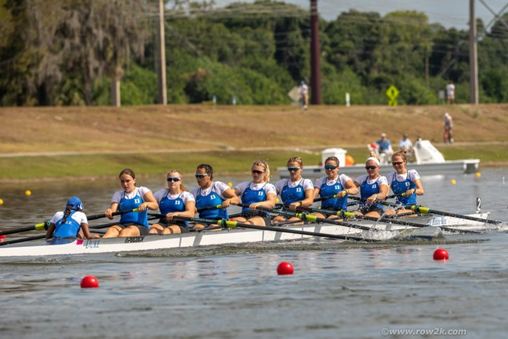 All three Blue Devil boats finished in the top-16 of their respective divisions.
