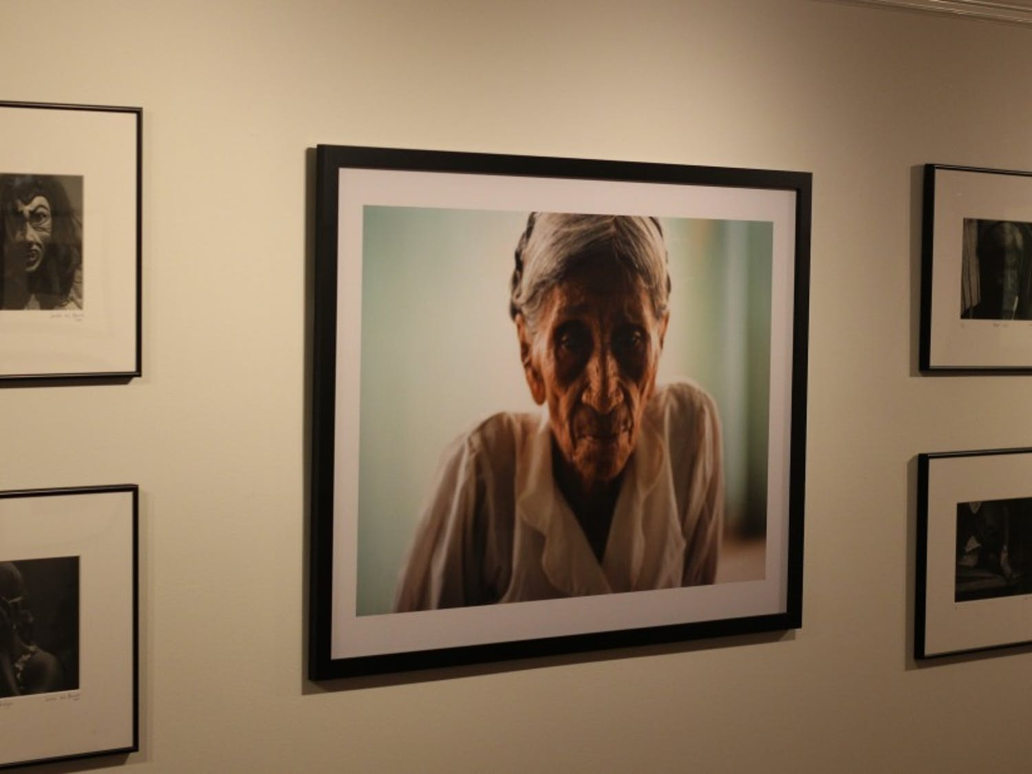 """Sandra Luz Barroso's photography exhibit """"For Catalina's Time"""" is on display in the John Hope Franklin Center through Dec. 6."""