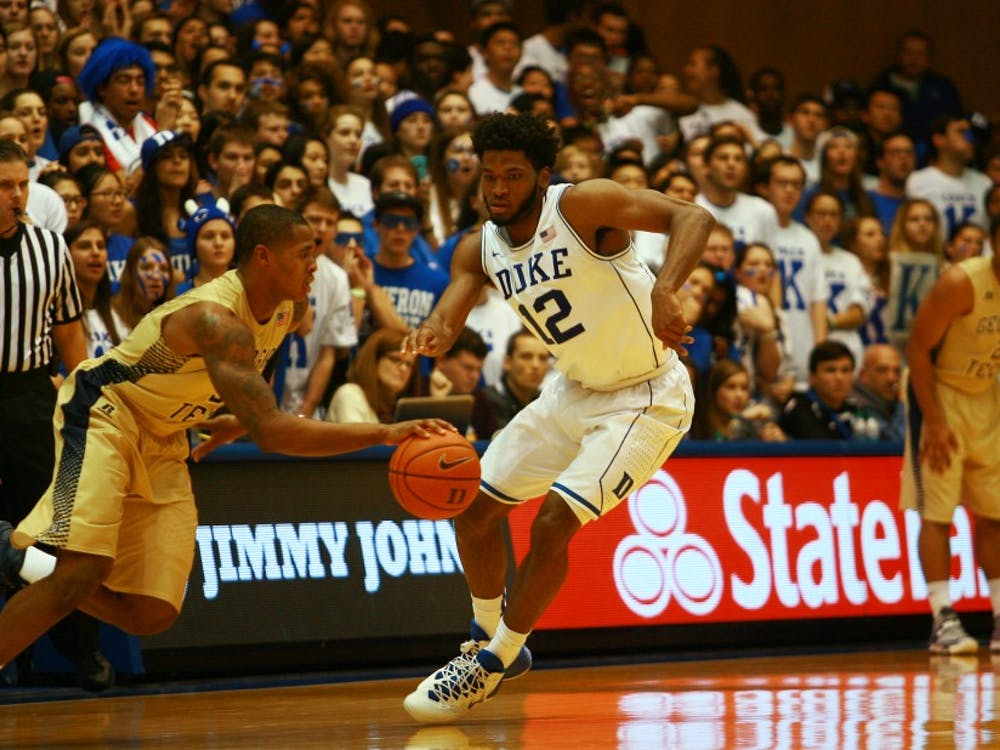 Freshman Justise Winslow has been one of the Blue Devils' premier defenders and will look to lead the charge against North Carolina.