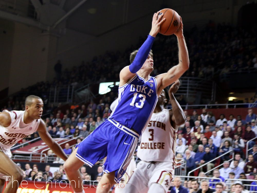 <p>Joey Baker was the spark Duke needed in the second half.</p>