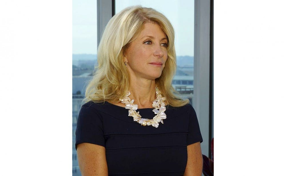 <p>Wendy Davis founded Deeds Not Words, a nonprofit organization that connects young activists with resources.</p>