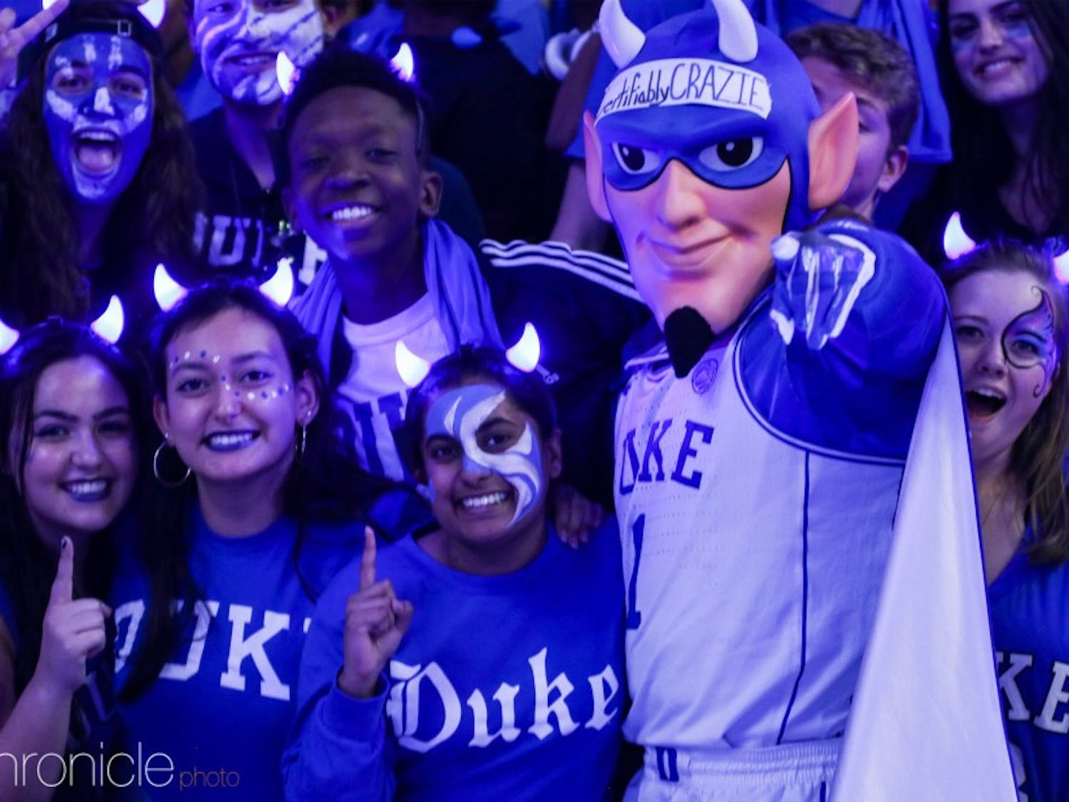 Duke men's basketball fans will get their first look at the team when they convene in Cameron Indoor for Friday's Countdown to Craziness.