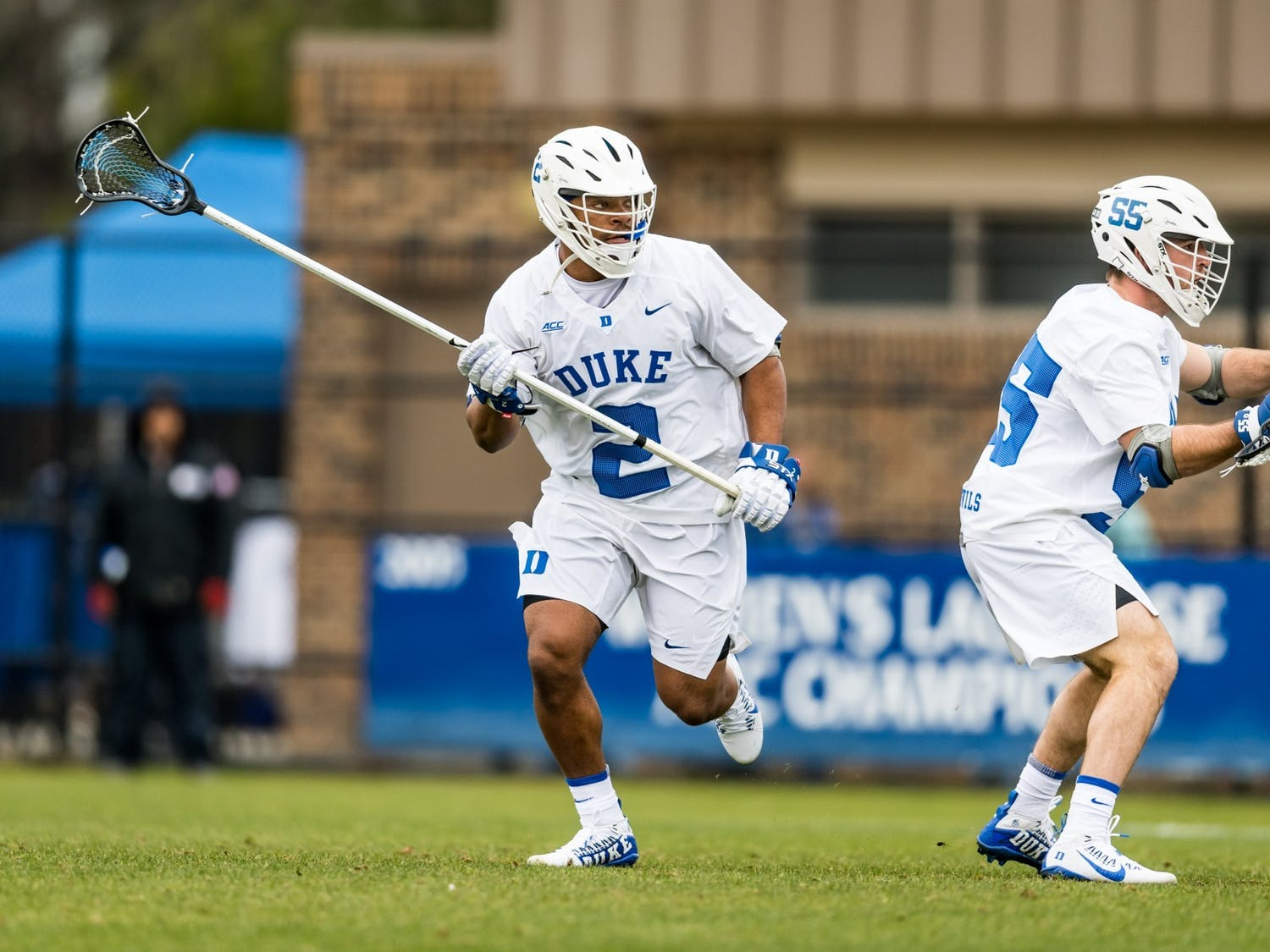 Graduate student and team captain JT Giles-Harris is anchoring Duke's defense in his final season.