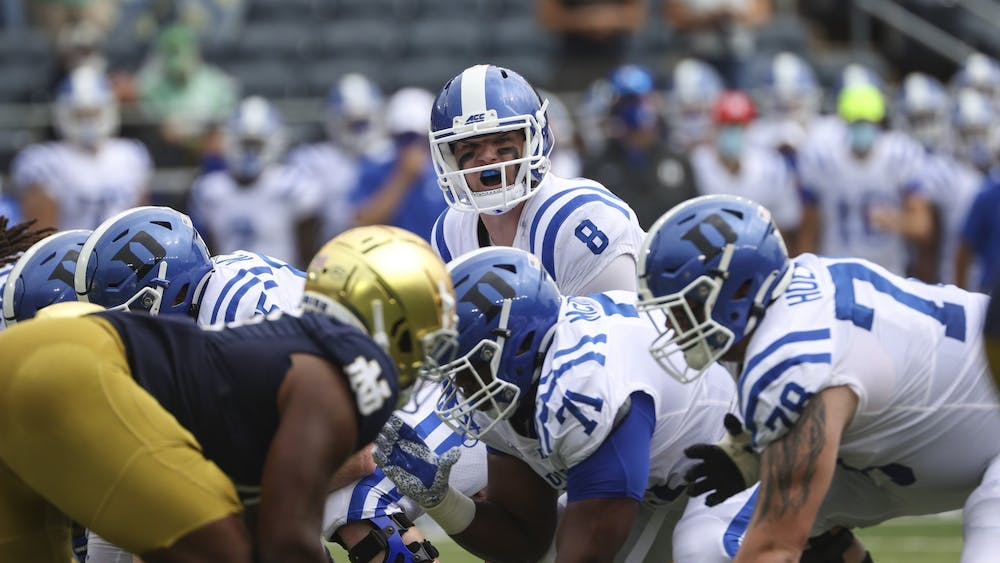 Pressure on the quarterback has been a problem for Duke all year, so losing both their starting backup centers will be a real challenge over the remainder of the season.