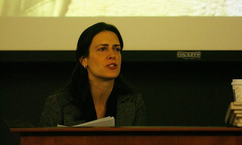 New York Times investigative reporter Andrea Elliott, who has won a Pulitzer Prize for her reporting on an imam in New York, spoke Wednesday on the growing distrust Muslims in the United States have faced since 9/11.