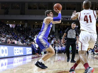 Senior Joey Baker shot a career-best 39.4% from 3-point land in his sophomore season.