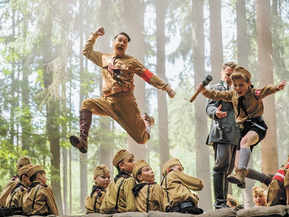 Taika Waititi's sixth directorial outing, which is nominated for Best Picture at the Academy Awards, is set near the end of World War II.